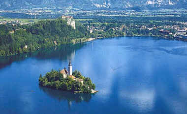 Bled Islet and Castle