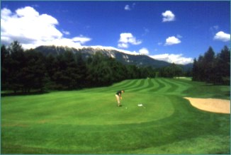 Golf at Bled